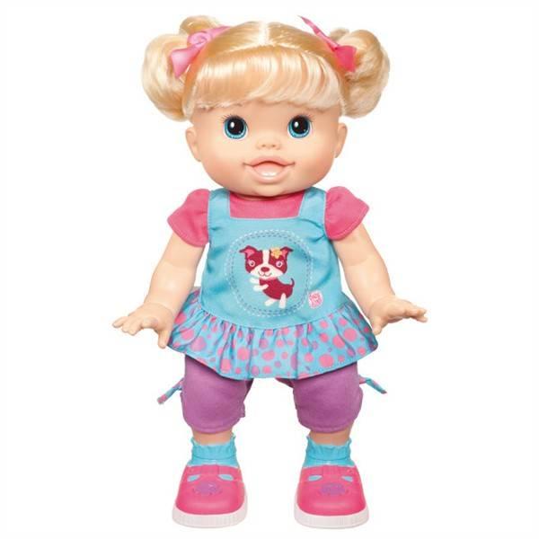 Panenka Hasbro Baby Alive chodící panenka