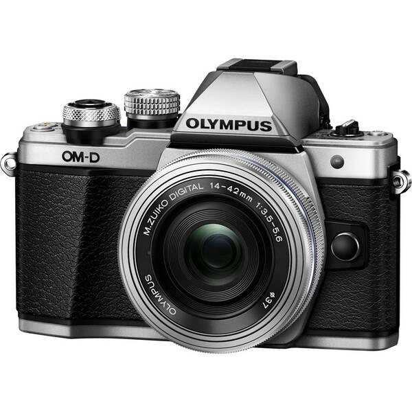 Digitální fotoaparát Olympus E-M10 Mark II + 14-42 KIT stříbrný