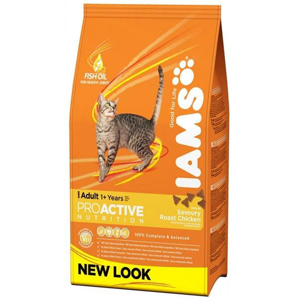 Granule Iams Cat rich in Chicken 1,5 kg