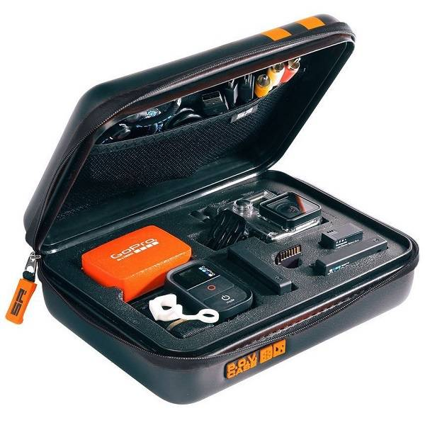 Ochranné puzdro SP Gadgets POV Aqua edice vel. S čierne