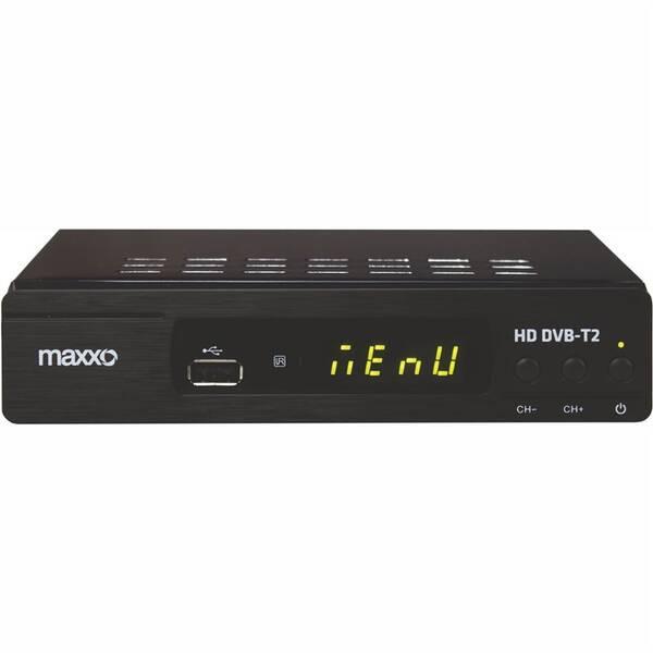 Set-top box Maxxo T2 HEVC/H.265 čierny