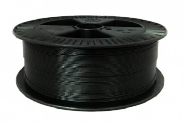 Tisková struna Filament PM 1,75 PETG, 2 kg (F175PETG_BK_2KG) černá