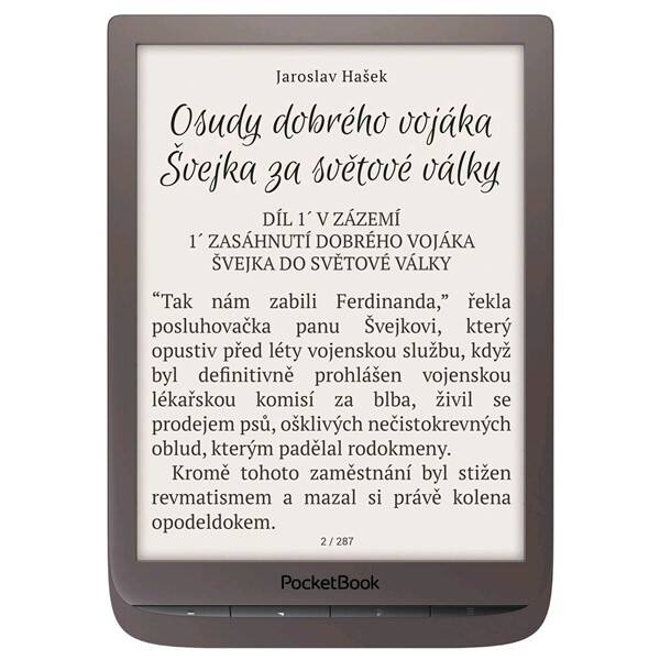 Čtečka e-knih Pocket Book 740 Inkpad 3 (PB740-X-WW) hnědá