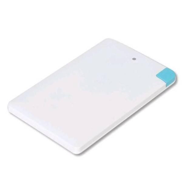 Powerbank Omega 2 000mAh Credit Card, microUSB / lightning bílá (poškozený obal 2990010406)