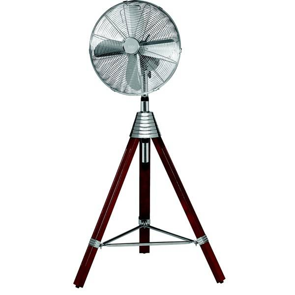 Ventilátor stojanový AEG VL 5688 nerez/dřevo