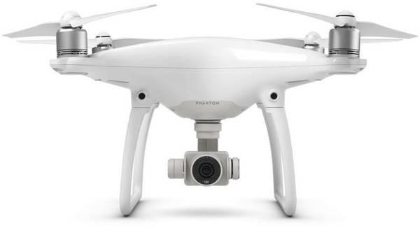 Dron DJI Phantom 4, 4K Ultra HD kamera (DJI0420) (DJI0420) bílý