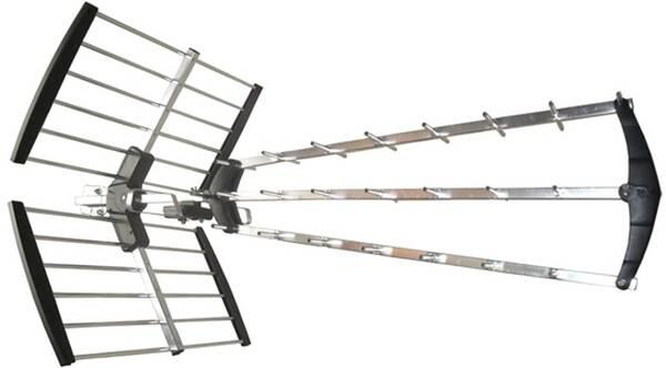 Vonkajšia anténa Solight HN53-LTE  17dB, UHF, 21. - 69. kanál (HN53-LTE)