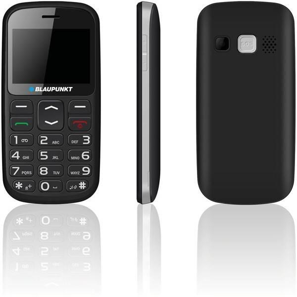 Mobilný telefón Blaupunkt Blaupunkt BS 02 čierny