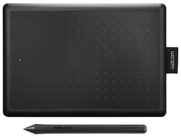 Tablet Wacom One By Small (CTL-472) čierny/červený