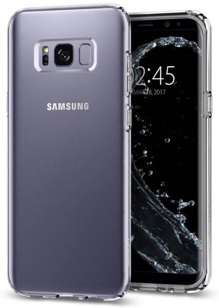 Kryt na mobil Spigen Liquid Crystal Samsung Galaxy S8+ (HOUSAGAS8PSPLITR) průhledný