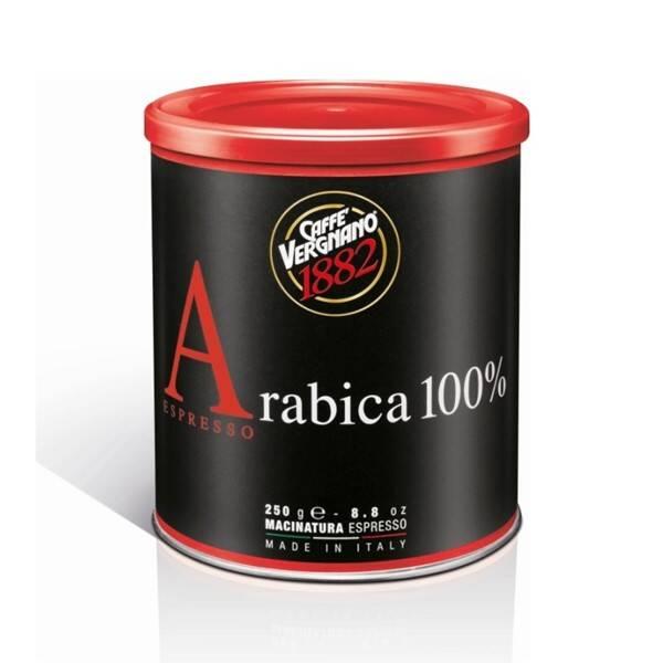 Káva mletá Vergnano Arabica 100 %, 250 g (353920)