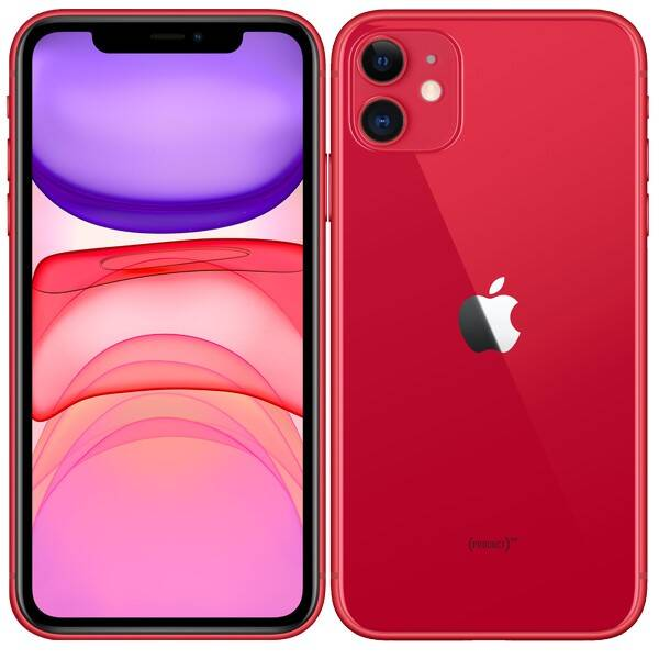 Mobilní telefon Apple iPhone 11 128 GB - (PRODUCT)RED (MWM32CN/A)