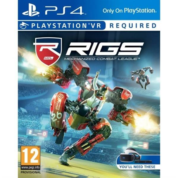 Hra Sony PlayStation VR RIGS Mechanized Combat League (PS4) (PS719860952)
