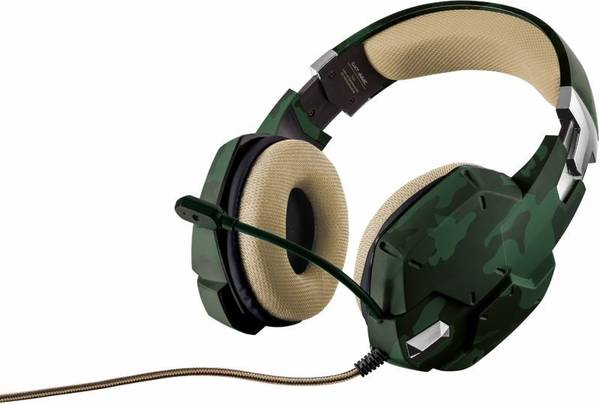 Headset Trust GXT 322C Green Camouflage (20865)
