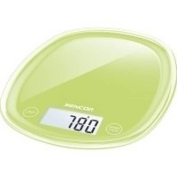 Kuchyňská váha Sencor Pastels SKS 37GG zelená