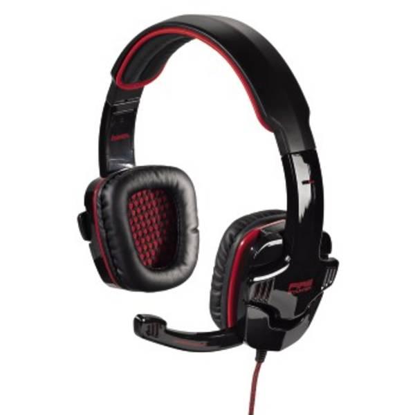Headset Hama Fire Starter (53987) čierny/červený