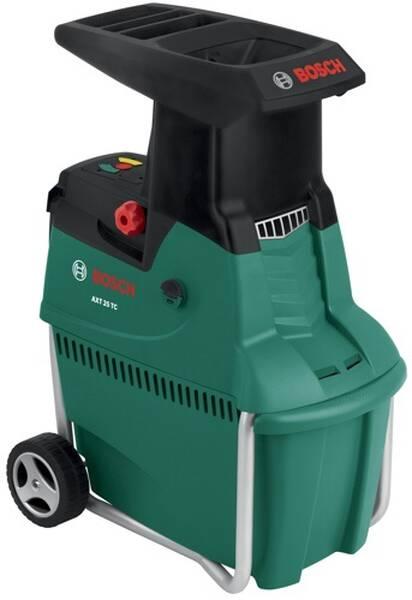 Drvič zahradného odpadu Bosch AXT 25 TC, zahradní čierny/zelený