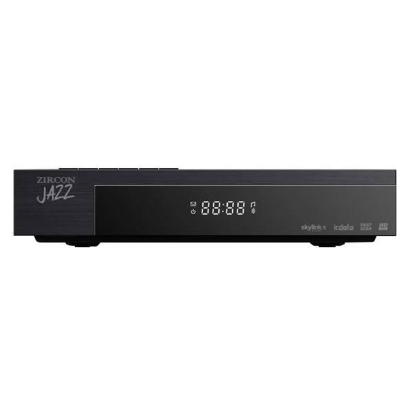 Satelitní přijímač Zircon JAZZ HD černý (vrácené zboží 8800331842)