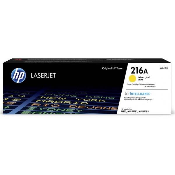 Toner HP 216A, 850 stran (W2412A) žlutý
