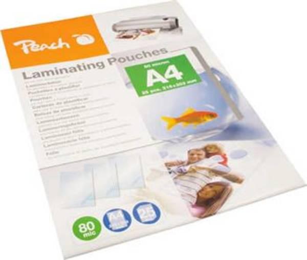 Laminovacie fólie Peach A4 (216x303mm), 80mic, 25pck/BAL (PPR080-02)