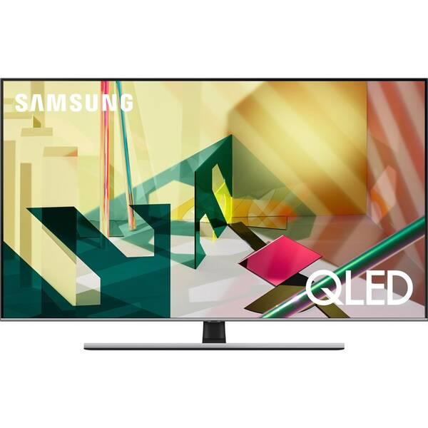 Televize Samsung QE55Q77TA stříbrná