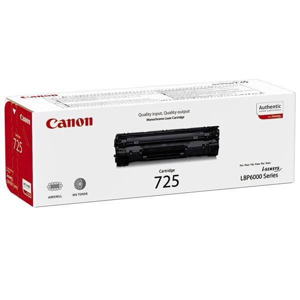 Toner Canon CRG-725, 1,6K stran, originální (3484B002) černý