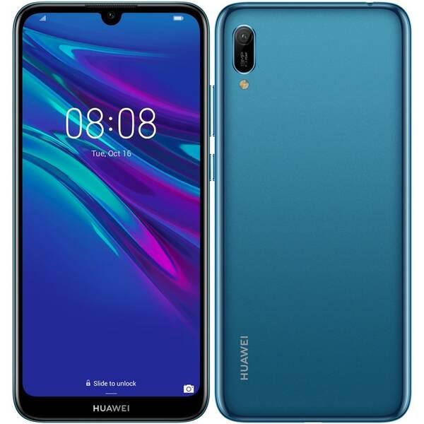 Mobilní telefon Huawei Y6 2019 (SP-Y619DSLOM) modrý (vrácené zboží 8800376713)