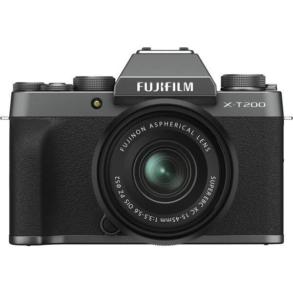 Digitální fotoaparát Fujifilm X-T200 + XC15-45 černý/šedý