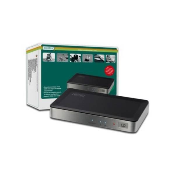 Video splitter Digitus HDMI elektronický 1 -> 2 (DS-41300)