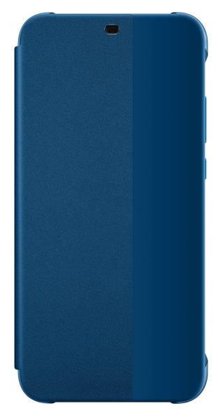 Pouzdro na mobil flipové Huawei Original Folio pro P20 Lite (51992314) modré