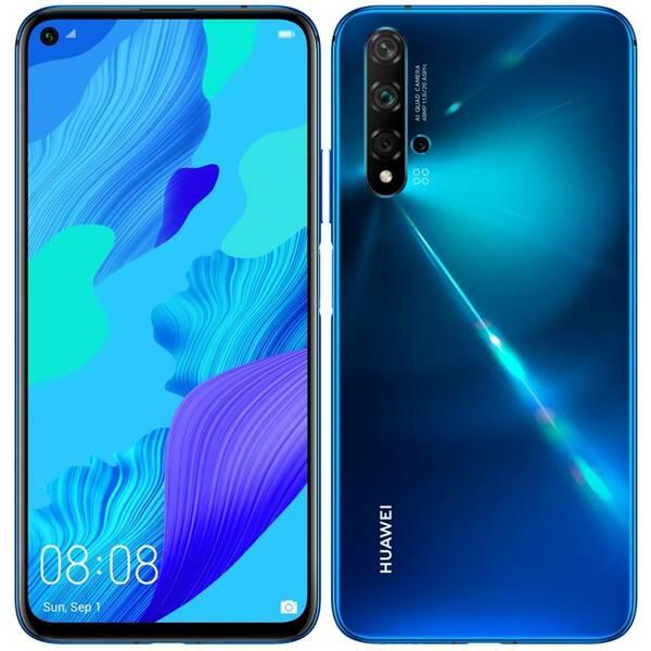 Mobilní telefon Huawei Nova 5T Dual SIM (SP-N5T128DSLOM) modrý