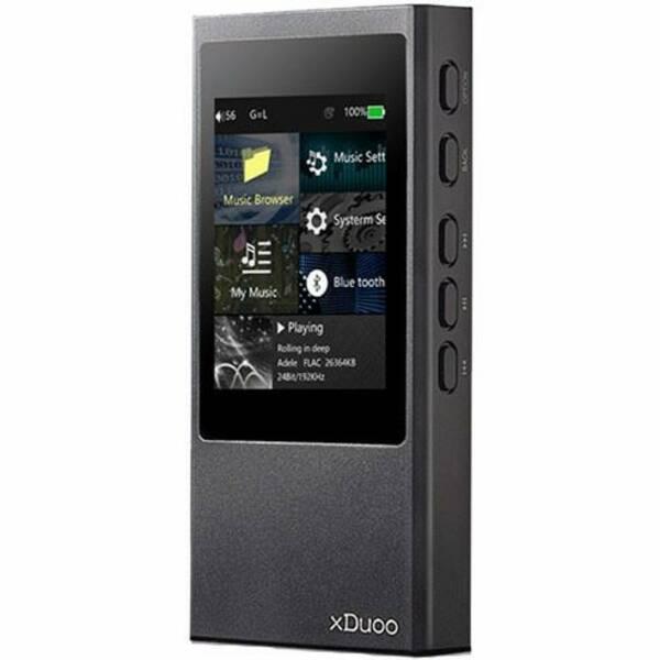 Prenosný digitálný prehrávač xDuoo X20 čierny