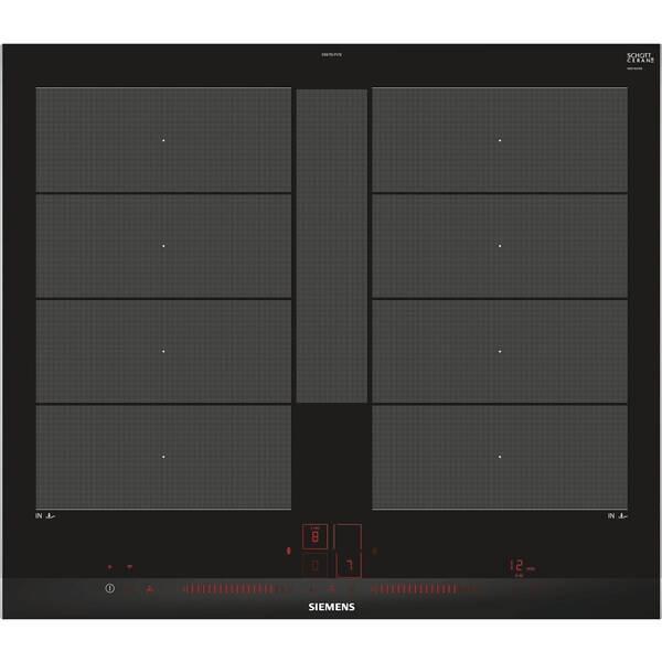 Indukční varná deska Siemens EX675LYV1E černá (poškozený obal 8119012849)