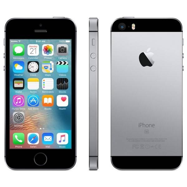 Mobilní telefon Apple iPhone SE 64 GB - Space Grey (MLM62CS/A) (Náhradní obal / Silně deformovaný obal 8800071785)