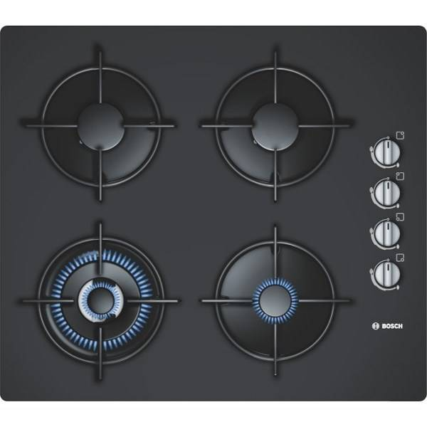 Plynová varná platňa Bosch POH616B10E čierna
