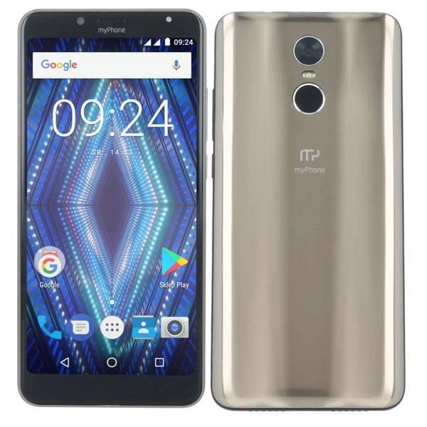 Mobilní telefon myPhone PRIME 18x9 (TELMYAPRIME189GO) zlatý