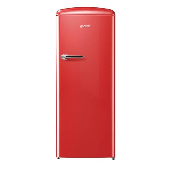 Chladnička Gorenje Retro ORB153RD červená