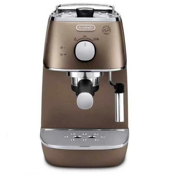 Espresso DeLonghi Distinta ECI 341.BZ bronzové