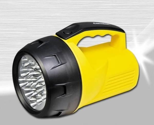 Svítilna Camelion FL-16LED, 16x LED (397794) žlutá