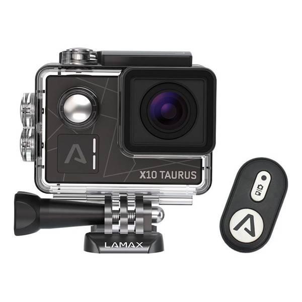 Outdoorová kamera LAMAX X10 Taurus černá (vrácené zboží 2580006976)
