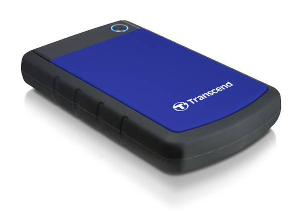 Externý pevný disk Transcend StoreJet 25M3B 2TB (TS2TSJ25H3B) modrý