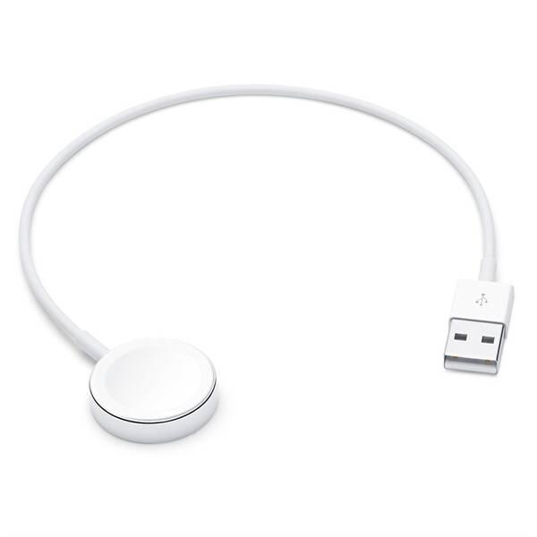 Nabíjecí kabel Apple magnetický pro Apple Watch, 0,3m (MX2G2ZM/A) bílý