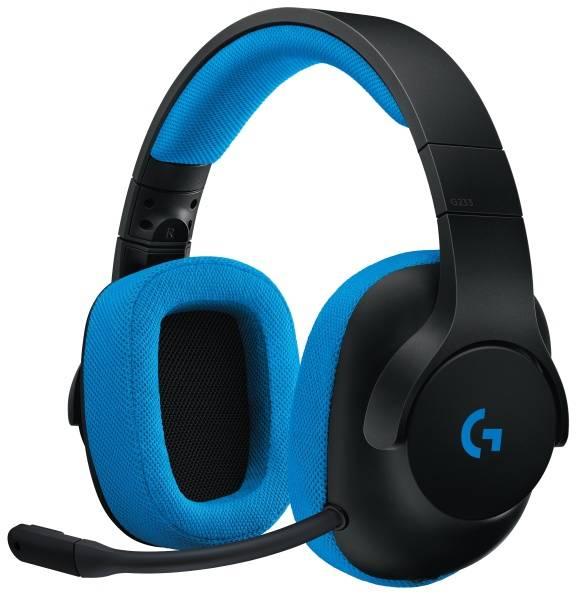 Headset Logitech Gaming G233 Prodigy (981-000703) černý/modrý
