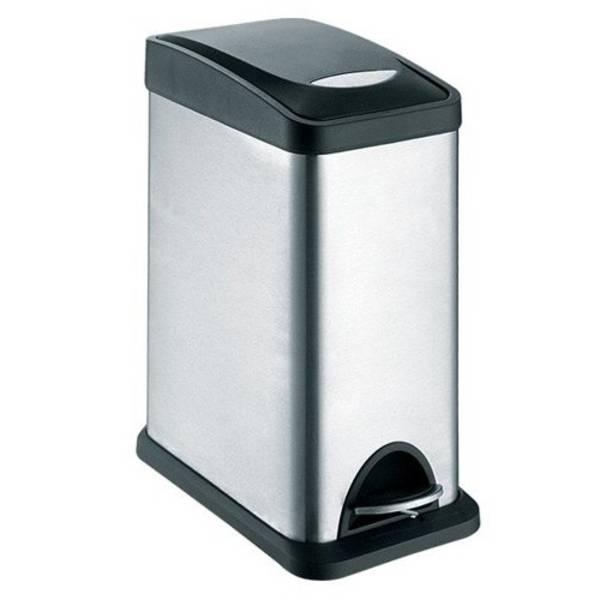 Odpadkový koš TORO 270232 černý/nerez