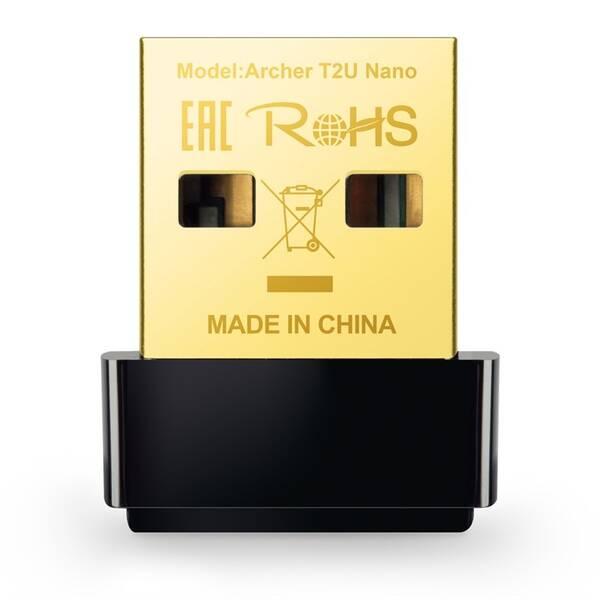 WiFi adaptér TP-Link Archer T2U Nano (Archer T2U Nano) čierny