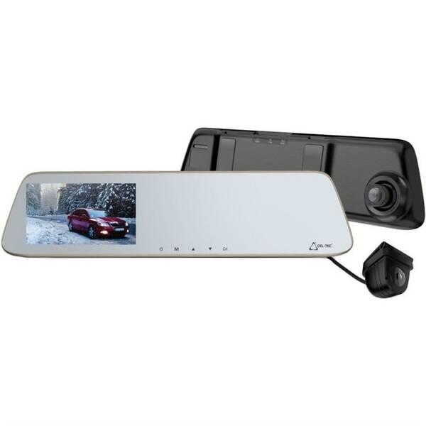 Autokamera CEL-TEC M6s Dual Touch černá/stříbrná