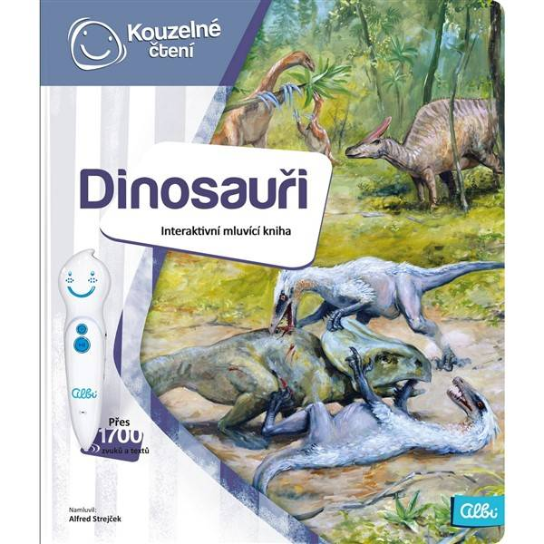 Kouzelné čtení Albi Kniha Dinosauři