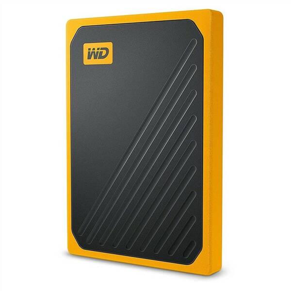 SSD externý Western Digital My Passport Go 1TB (WDBMCG0010BYT-WESN) žltý