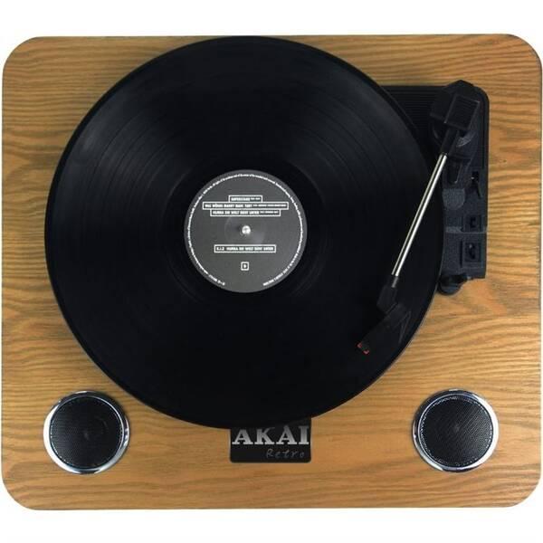 Gramofon AKAI ATT-09 dřevo