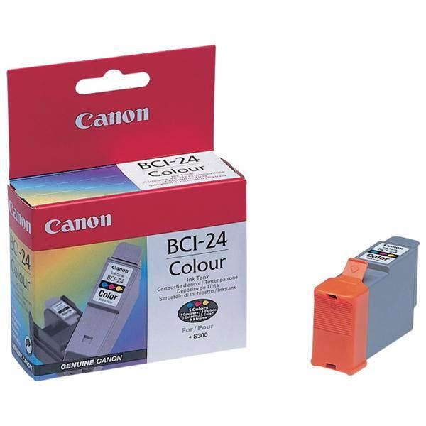 Cartridge Canon BCI-24C, 170 stran - originální (6882A002) červená/modrá/žltá